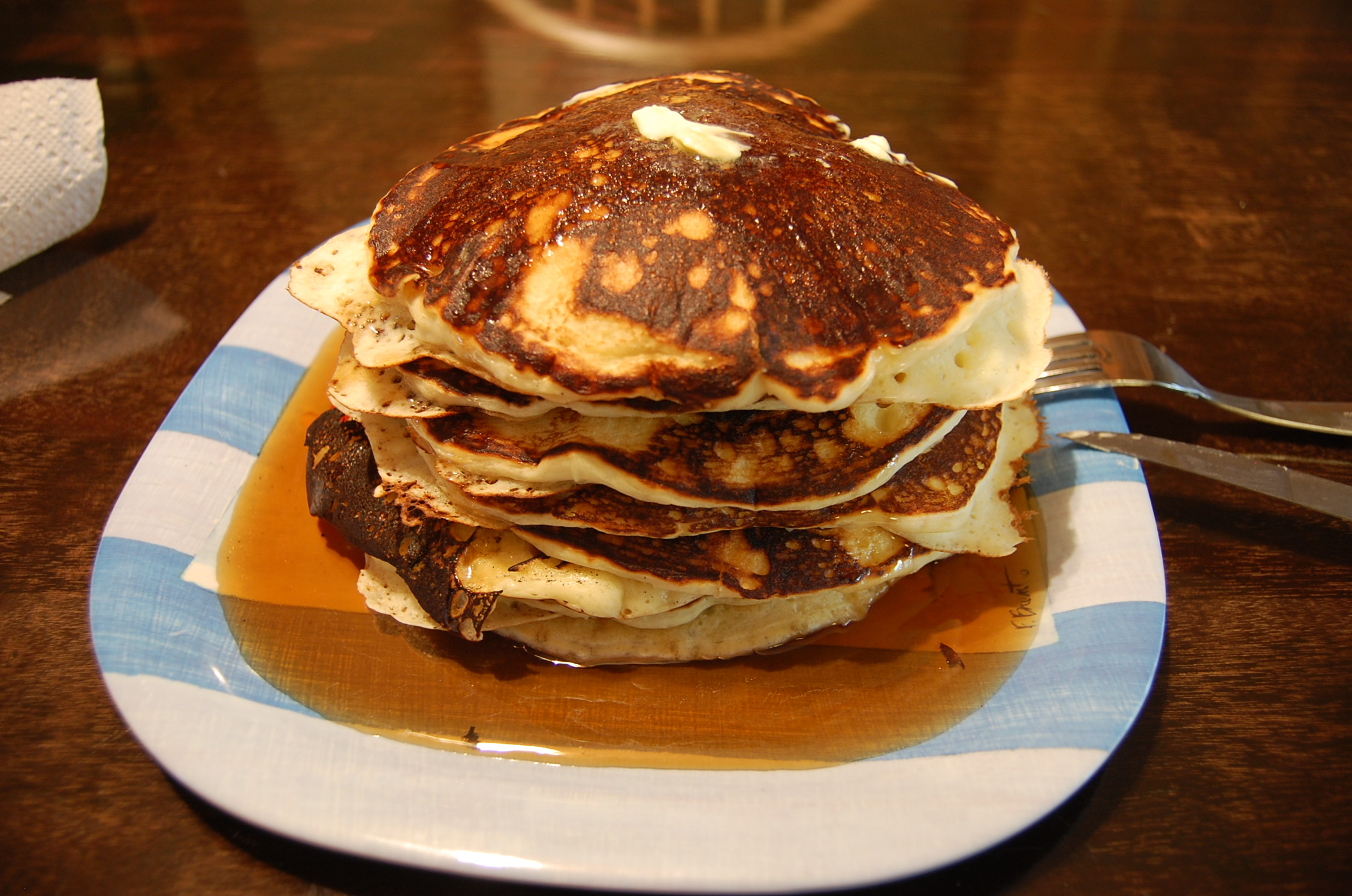 The Best Darn Chocolate Pancakes EVER Recipe — Dishmaps